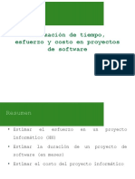 Puntos de Funcion - Estimacion en Software