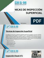 2.1 Tecnicas de Inspeccion Superficial VT