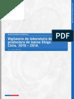 Vigilancia de laboratorio de E. coli productora de toxina Shiga. Chile, 2010 – 2016.