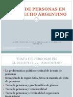 Trata de Personas en El Derecho Argentino (Ultima Version)