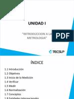 Unidad 1 REPASO Metrología