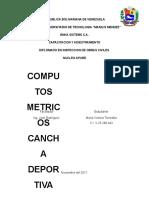 Cancha Deportiva Informe