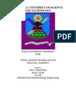 Attachment Report at ABB