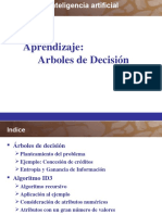 Aprendizaje con Arboles de decision