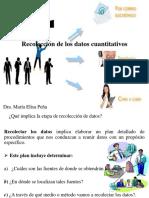8. Recolección de Los Datos Cuantitativos