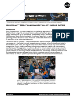 MICROGRAVITY EFFECTS ON HUMAN PHYSIOLOGY