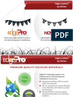 EdgePro Hardscape Systems Features & Benefits