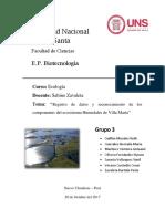 Ecologia - Rio Lacramarca