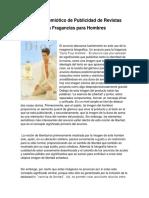 Análisis Semiótico de Publicidad de Revistas