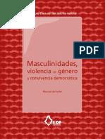 Manual de Taller Masculinidades