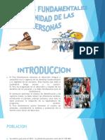 Derechos Fundamentales y Dignidad de Las Personas
