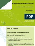 Av.cardiorespiratória I- Rodrigo Ruivo