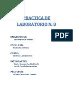 Qimica Lab 8