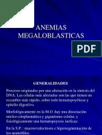 Anemias megaloblósticas