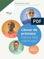 Cartilha INCA - Câncer de Próstata (2017)