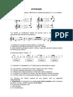 Questões de teoria musical