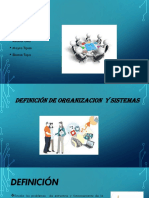 Oraganizacion y Sistemas