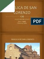 Basílica de San Lorenzo Presentación.