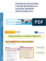 Instrucciones Para La Presentacion de Solicitudes Ka1 Edu Superior