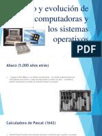 El Uso y Evolución de Las Computadoras