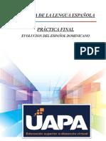 Práctica Final de Historia de La Lengua Española
