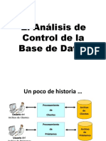 10. Analisis de Control de Base de Datos