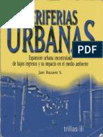 Libro Periferias Urbanas Jan Bazant