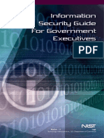 Information security guide for government executive