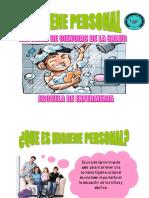 Rotafolio Higiene Personal