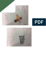 dibujos utilizando numeros