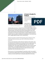 A Cynic's Guide to Fintech — Bull Market — Medium