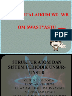 Struktur Atom Dan Sistem Periodik Unsur