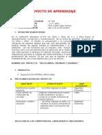 PROYECTO-DE-APRENDIZAJE RECICLAJE.docx