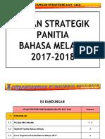 Pelan Strategik Panitia Bahasa Melayu 2017-2018