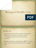 Managed Healthcare