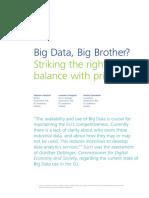 Lu en Big Data Big Brother 122015