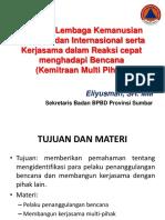 Peranan Lembaga Kemanusian Nasional Dan Internasional