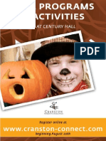 Cranston Fall 2010 Program Guide