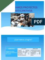 DISEÑAMOS PROYECTOS PARTICIPATIVOS