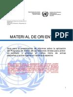 Material de Orientación - PoA Spanish