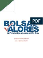 Bolsa de Valores Del Paraguay