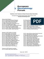 Guidelines Treatment Atopic Eczema