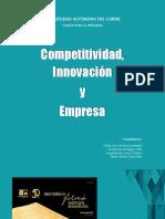 Competitividad, Innovación y Empresa
