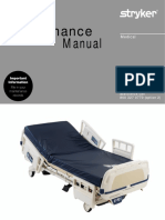 Stryker Epic 2 2030 Hospital Bed - Service Manual