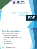 CHAPTER 3 - Analog Modulation
