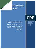 Plan de desarrollo concertado ascope