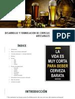 Desarrollo y Formulacion de Cervezas Artesanales