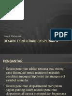 Desain Penelitian Eksperimen - 9