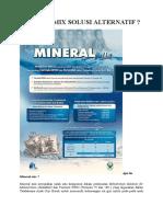 Mineral Mix Solusi Alternatif