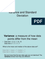 Lecture5 Variance and Standard Deviation